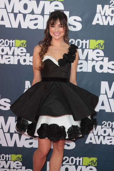 Crystal Reed pictured at the 2011 MTV Movie Awards Arrivals at Universal Studios' Gibson Amphitheatre on June 5, 2011 in Universal City, California. © RD / Orchon / Retna Digital