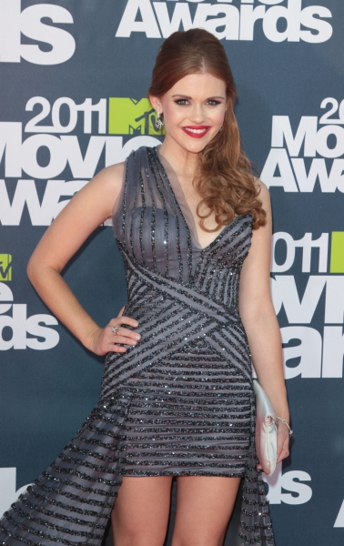 Holland Roden pictured at the 2011 MTV Movie Awards Arrivals at Universal Studios' Gibson Amphitheatre on June 5, 2011 in Universal City, California. © RD / Orchon / Retna Digital at 2011 MTV Movie Awards Red Carpet