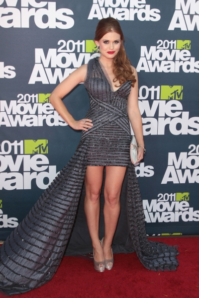Holland Roden pictured at the 2011 MTV Movie Awards Arrivals at Universal Studios' Gibson Amphitheatre on June 5, 2011 in Universal City, California. © RD / Orchon / Retna Digital