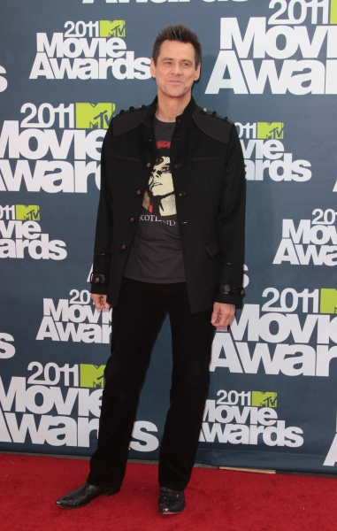 Jim Carrey pictured at the 2011 MTV Movie Awards Arrivals at Universal Studios' Gibson Amphitheatre on June 5, 2011 in Universal City, California. © RD / Orchon / Retna Digital