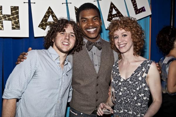 Teddy Toye, Max Kumangau and Lundsay Nicole Chambers