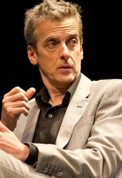 Peter Capaldi at THE LADYKILLERS Press Launch!