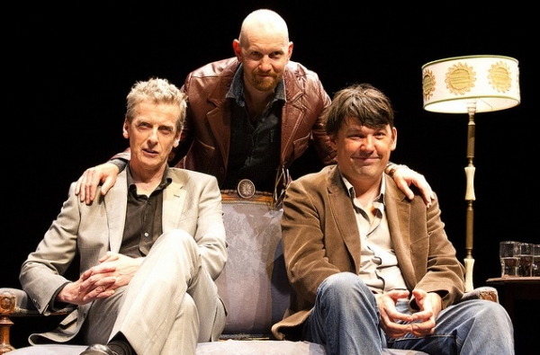 Peter Capaldi (actor), Sean Foley (director) and Graham Lineham (writer)