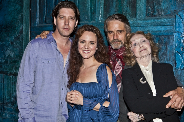 High Res James Barbour, Melissa Errico, Jeremy Irons and Charlotte Moore