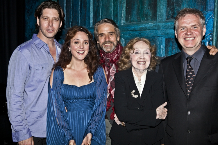 High Res James Barbour, Melissa Errico, Jeremy Irons, Charlotte Moore and Ciaren O'Reilly