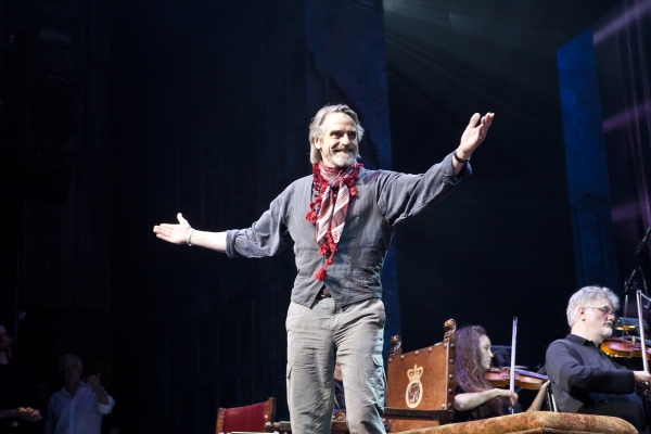 Jeremy Irons at Irish Rep Present CAMELOT in Concert Benefit!