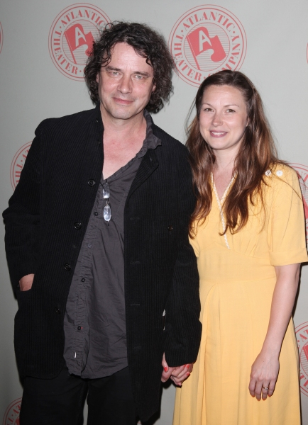 David Leveaux & Jenny Worton attending the 'Through A Glass Darkly' Opening Night After Party at Chinatown Brasserie in New York City.