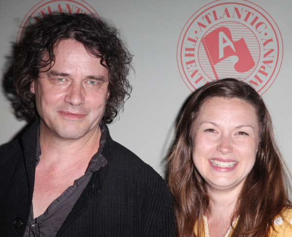 David Leveaux & Jenny Worton attending the 'Through A Glass Darkly' Opening Night Aft Photo