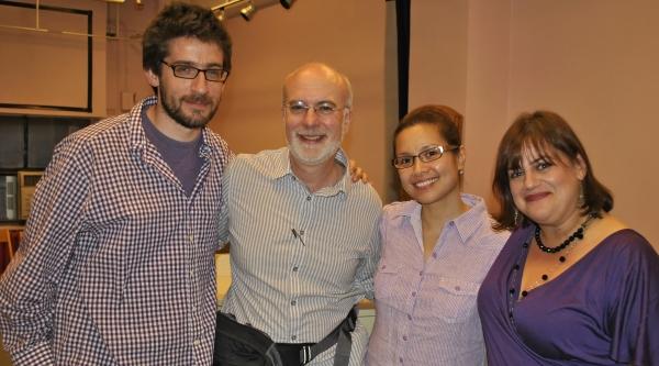 Daniel Kutner, Larry Yurman, Lea Salonga, Diana Basmajian   Photo
