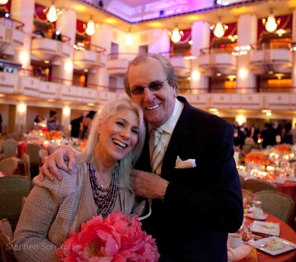 Jamie DeRoy & Danny Aiello at The Friar's Foundation Honors Connie Francis and Leonard A. Wilf at Applause Award Gala