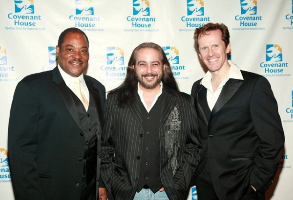 Lawrence Clayton, Danny Zolli, and Jeffry Denman at Capathia Jenkins, Jeffry Denman, et al. Attend Covenant House Benefit