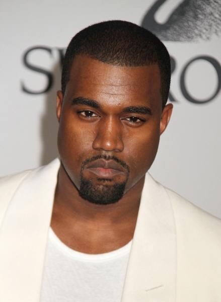 Kanye West at Lady Gaga Attends CFDA Fashion Awards