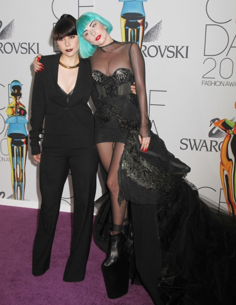 Photo Flash: Lady Gaga Attends CFDA Fashion Awards