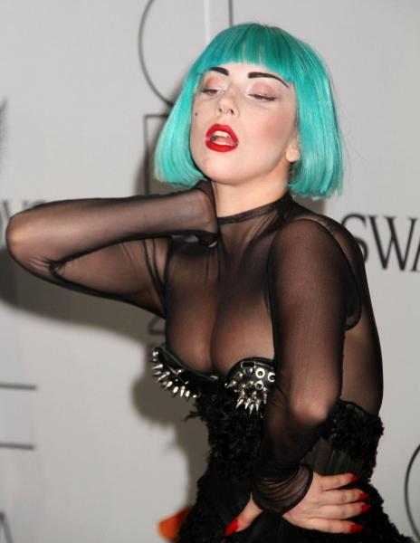 Lady Gaga  at Lady Gaga Attends CFDA Fashion Awards
