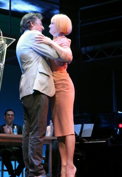 Gabriel Byrne & Ellen Barkin at 2011 Theatre World Awards Presentation - Part One