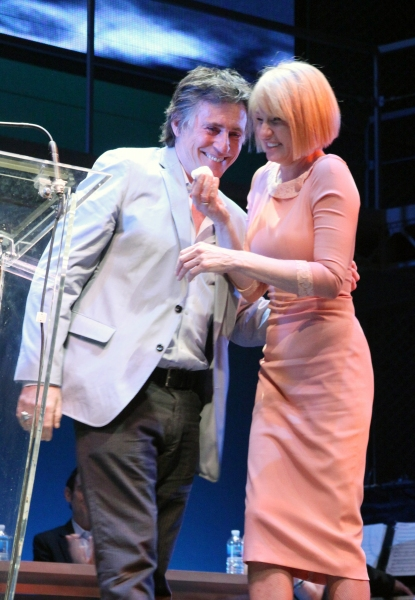 Gabriel Byrne & Ellen Barkin at 2011 Theatre World Awards Presentation - Part One