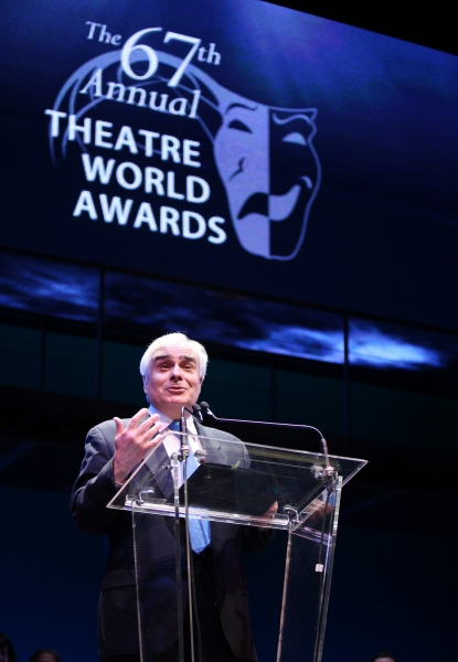 Peter Filichia during the 2001 Theatre World Awards Presentation at the August Wilson Theatre in New York City.