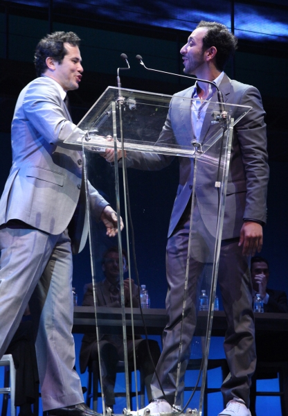 John Leguizamo & Desmin Borges at 2011 Theatre World Awards Presentation - Part Two