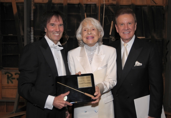 Gary Greene, Carol Channing and Wink Martindale