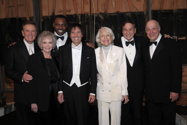 Backstage with Wink Martindale, June Lockhart, Petri Hawkins-Byrd, Gary Greene, Carol Channing, Richard Sherman and Charles Fox