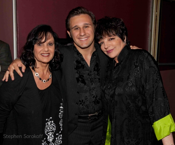 Angela Bacari, Nicolas King, Liza Minnelli at Liza Minnelli & More Visit Nicolas King in Concert