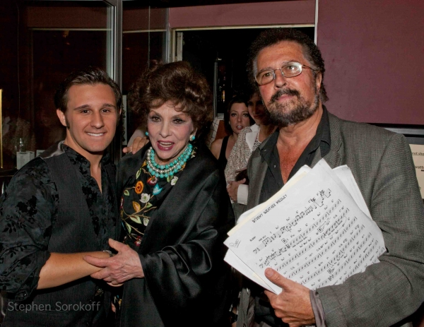 Nicolas King,Gina Lollobrigida, Mike Renzi