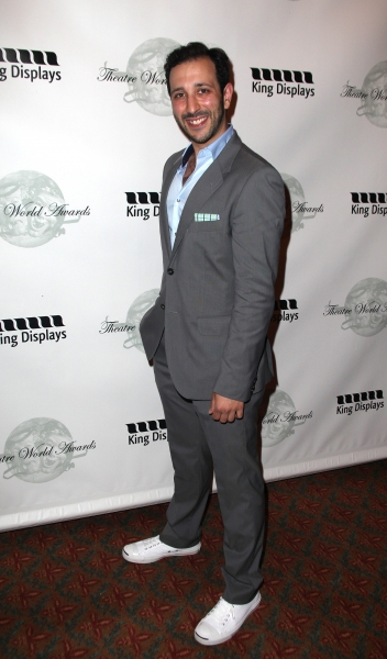Desmin Borges attending the 2011 Theatre World Awards at the August Wilson Theatre in New York City.