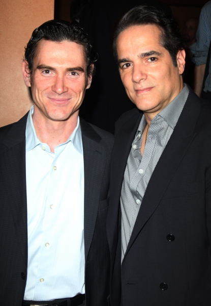 Billy Crudup & Yul Vazquez attending the 2011 Theatre World Awards at the August Wilson Theatre in New York City.  at 2011 Theatre World Awards Arrivals