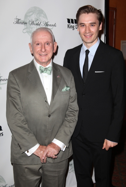 Lionel Larner & Seth Numerich attending the 2011 Theatre World Awards at the August Wilson Theatre in New York City.