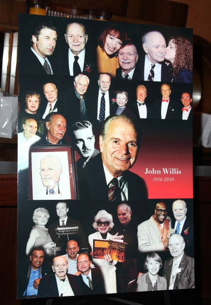 John Willis Poster at the 2011 Theatre World Awards at the August Wilson Theatre in New York City.