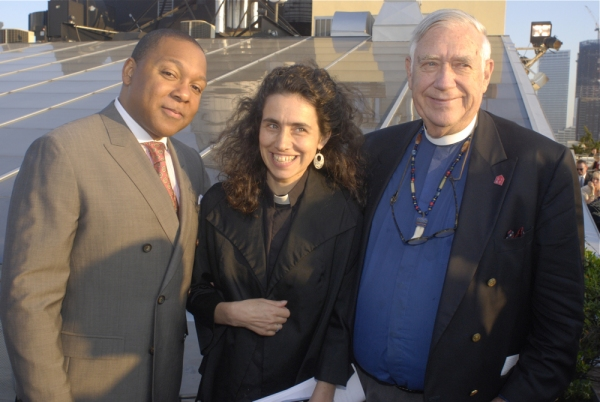 Photo Flash: Wynton Marsalis Honored by Interfaith Center of NY