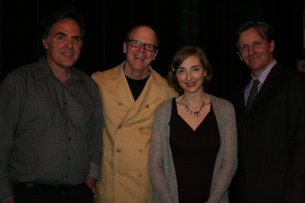 Tim Sanford with SHAGGS creators writers Gunnar Madsen and Joy Gregory and director J Photo