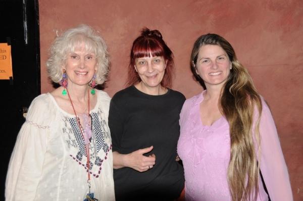 Diane Martindale (Artistic Director), Angela Huff (Costume Designer) & Bonnie Comley Photo