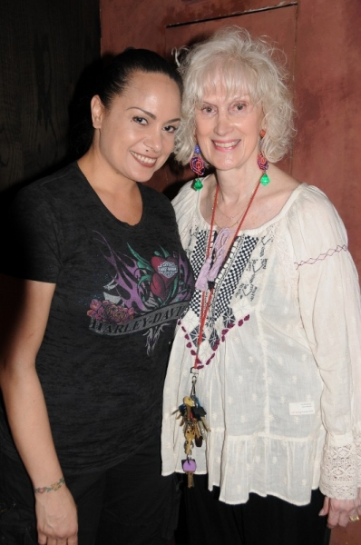 Shirley Johnston  (Stage Manager), Diane Martindale (Artistic Director) Photo