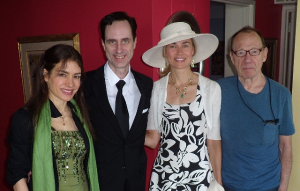 Juliette Bennett, Bill Connington, Nicola Walter, Anthony Handen-Guest