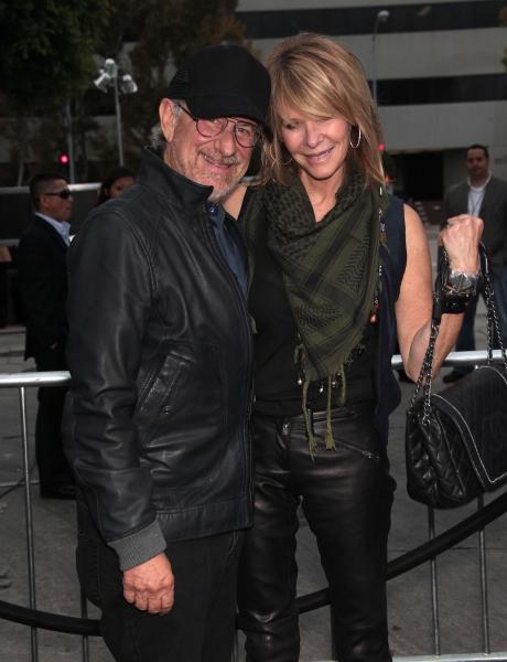 Steven Spielberg & Kate Capshaw