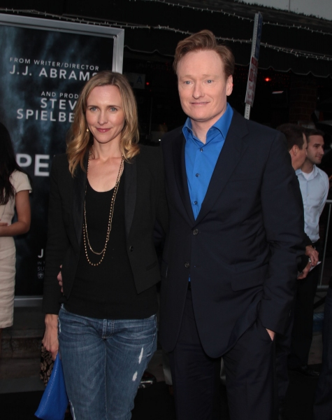 Conan O'Brien & Wife