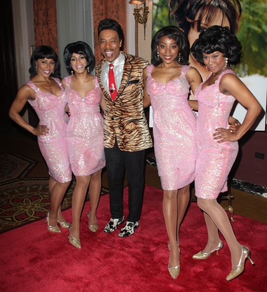 'Baby it's You' Cast (LtoR) Kyra Da Costa, Crystal Starr, Geno Henderson, Erica Ash and Christina Sajous attending the 2011 Friars Foundation Applause Award Gala in New York City.