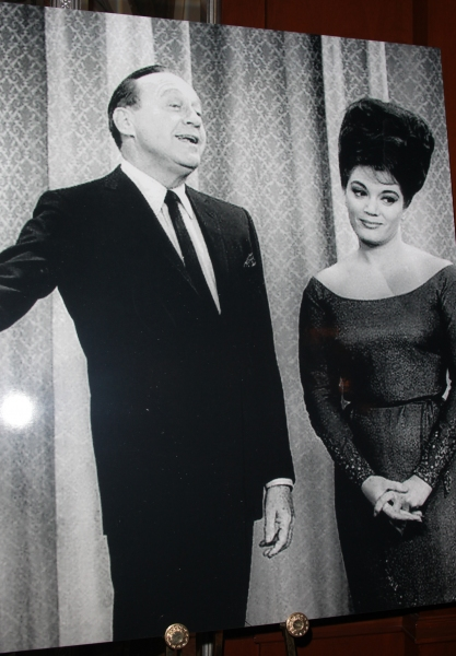 Jack Benny & Connie Francis attending the 2011 Friars Foundation Applause Award Gala in New York City.