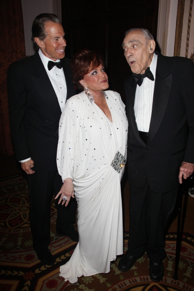 Bill Boggs, Connie Francis & Abe Vigoda attending the 2011 Friars Foundation Applause Photo