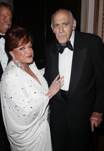 Connie Francis & Abe Vigoda attending the 2011 Friars Foundation Applause Award Gala  Photo