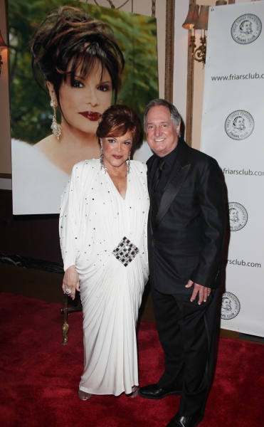 Connie Francis & Neil Sedaka attending the 2011 Friars Foundation Applause Award Gala in New York City.