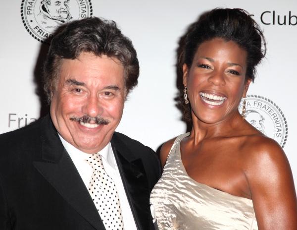 Tony Orlando & Nicole Henry attending the 2011 Friars Foundation Applause Award Gala in New York City.