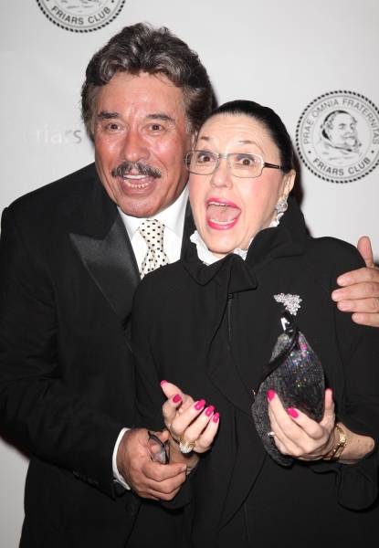 Tony Orlando & Judy Tannen attending the 2011 Friars Foundation Applause Award Gala in New York City.