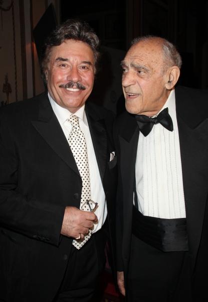 Tony Orlando & Abe Vigoda attending the 2011 Friars Foundation Applause Award Gala in New York City.