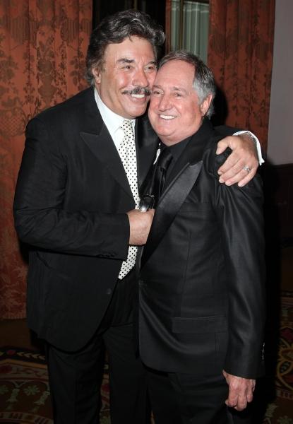Tony Orlando & Neil Sedaka attending the 2011 Friars Foundation Applause Award Gala in New York City.