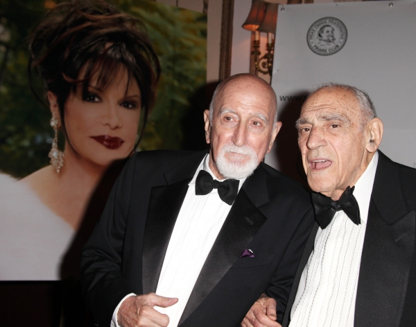Dominic Chianese and Abe Vigoda attending the 2011 Friars Foundation Applause Award G Photo