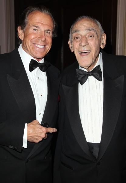 Bill Boggs & Abe Vigoda attending the 2011 Friars Foundation Applause Award Gala in N Photo