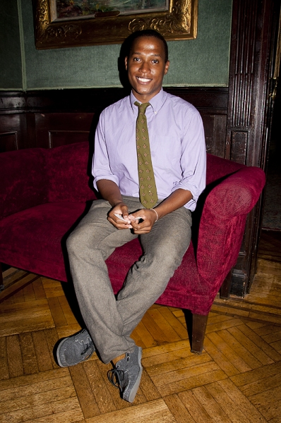 Branden Jacobs-Jenkins at Domingo, Nottage et al. Celebrate Emerging Playwrights at Vineyard