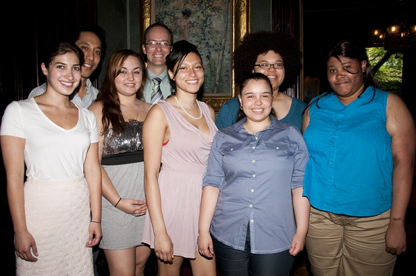 Photo Coverage: Domingo, Nottage et al. Celebrate Emerging Playwrights at Vineyard